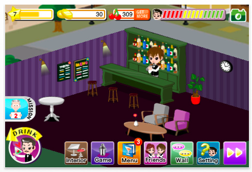 Twinkle Bar: CyberAgent's Social Game For iPhone Available In ...