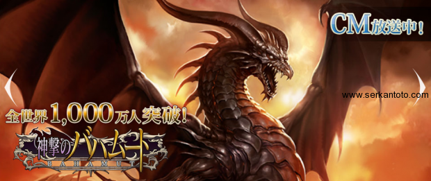 rage of bahamut 10 million users
