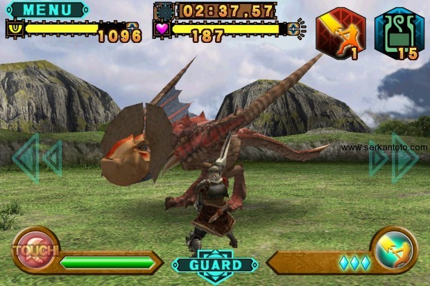 monster hunter massive hunting gree 3